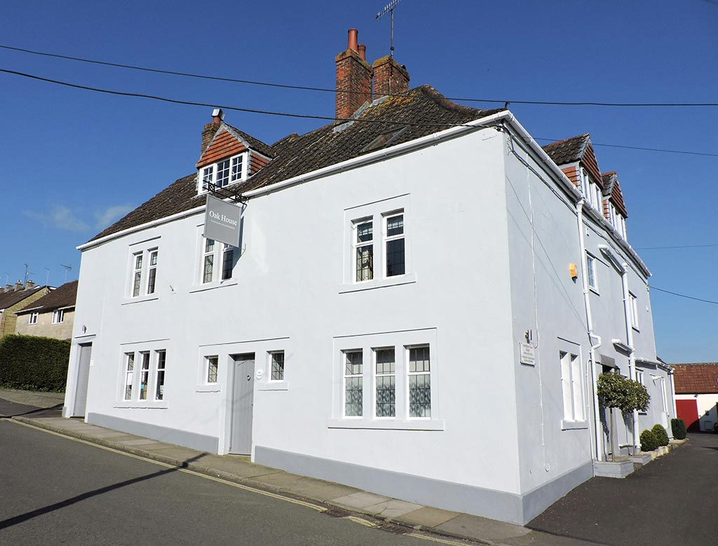 Oak House Somerset exterior