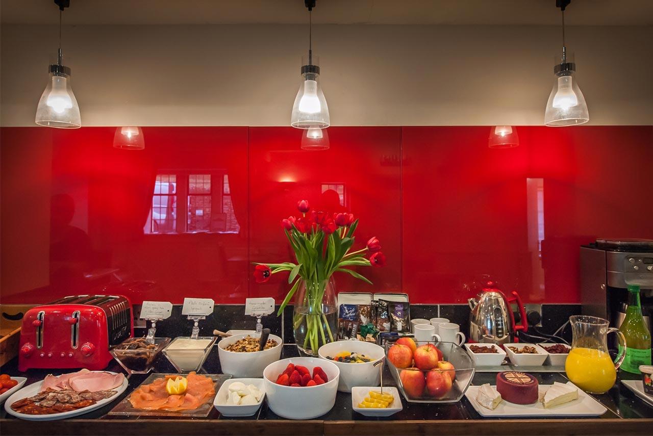 Oak House Somerset - delicious breakfast